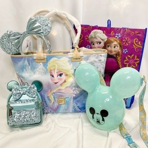 Dooney Bourke Frozen Tote Bag & Disney Bundle NWT